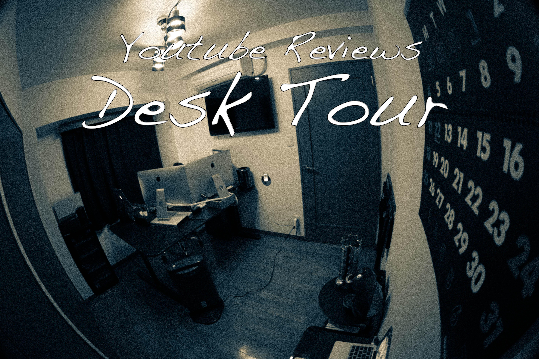 お気に入りのyoutube映像レビュー:Desk Tour (デスクツアー)