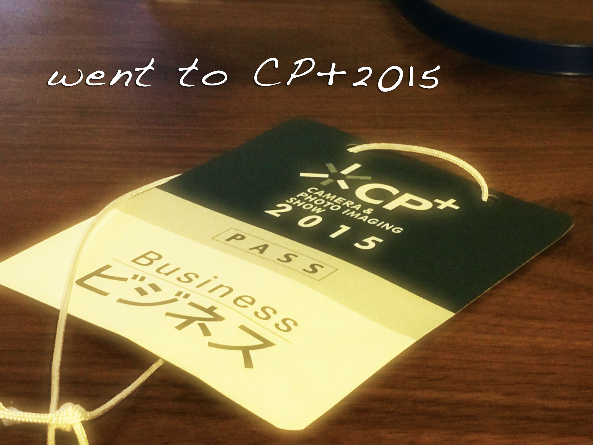 CP+2015に行きました (気になっているカメラOM-D E-M5 mark2)