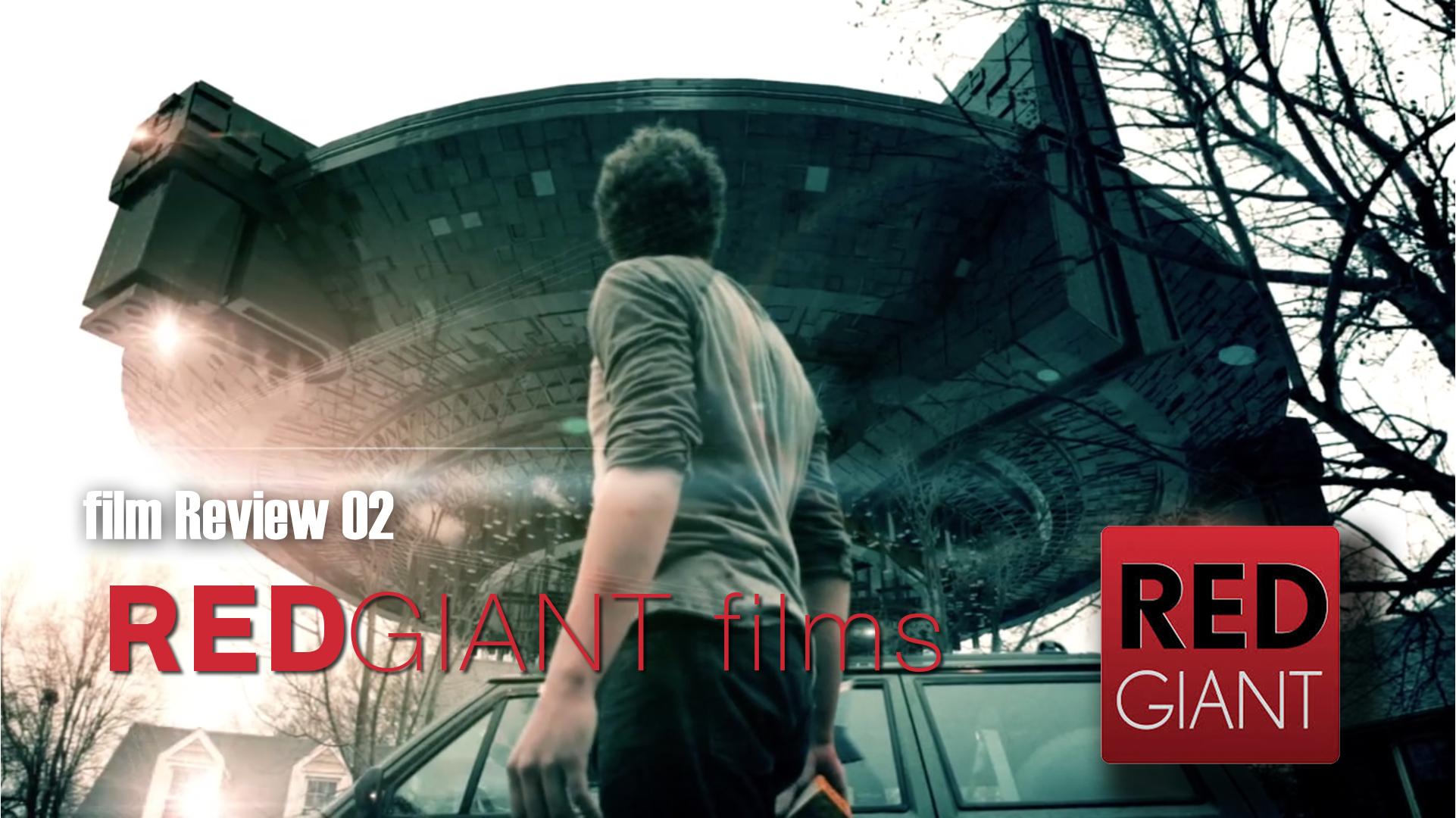 お気に入りの映像作品レビュー02 REDGIANTの作品