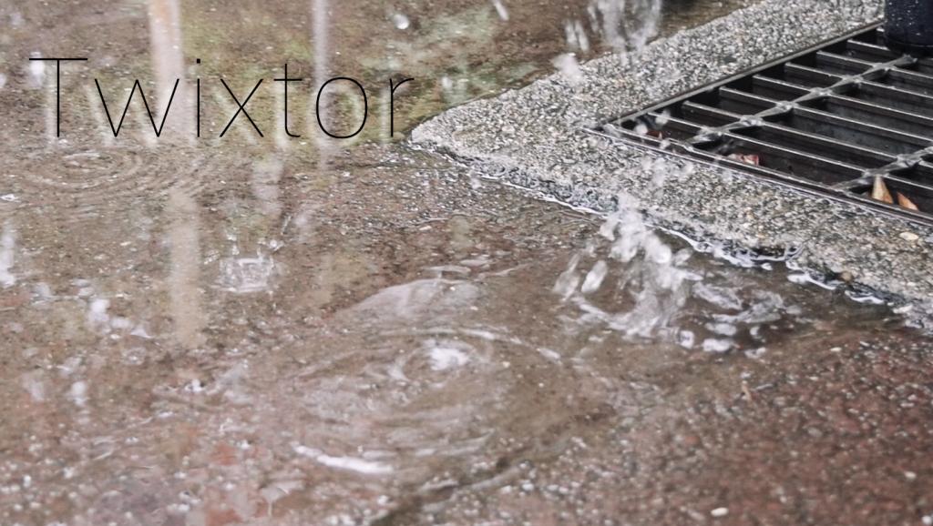 自分なりのTwixtor使用例